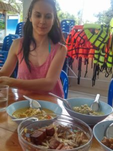 Mancare in Trang